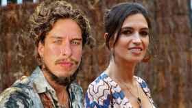 Kiki Morente y Sara Carbonero en un montaje de JALEOS.