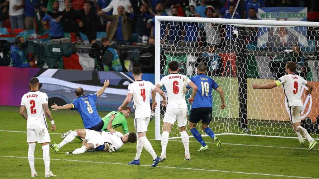La final de la Eurocopa entre Italia e Inglaterra