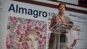 María Chivite presenta a la Comunidad Foral Navarra en Almagro, la cuna del teatro clásico