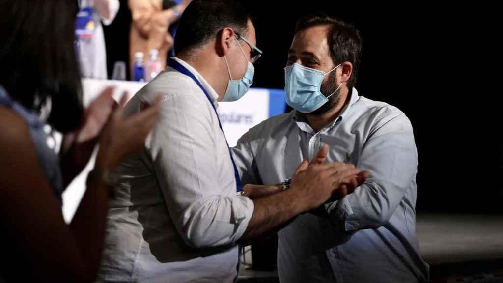 Benjamín Prieto y Paco Núñez, en una imagen de este sábado