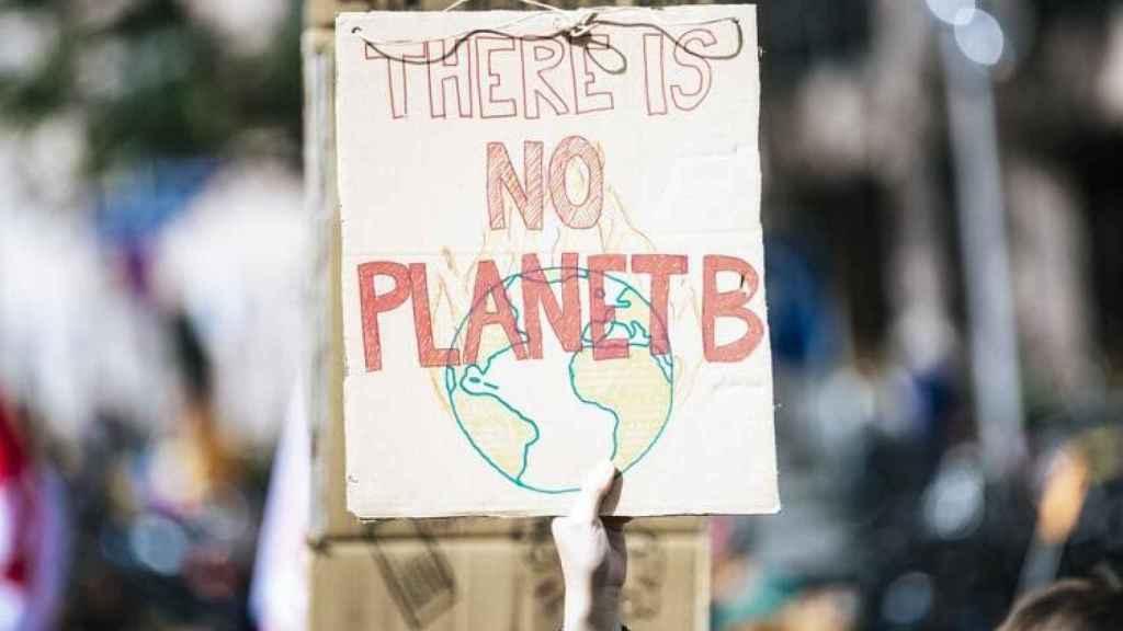Manifestación contra el cambio climático.