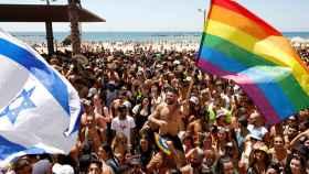 Celebraciones del Orgullo Gay en Tel Aviv en 2021.