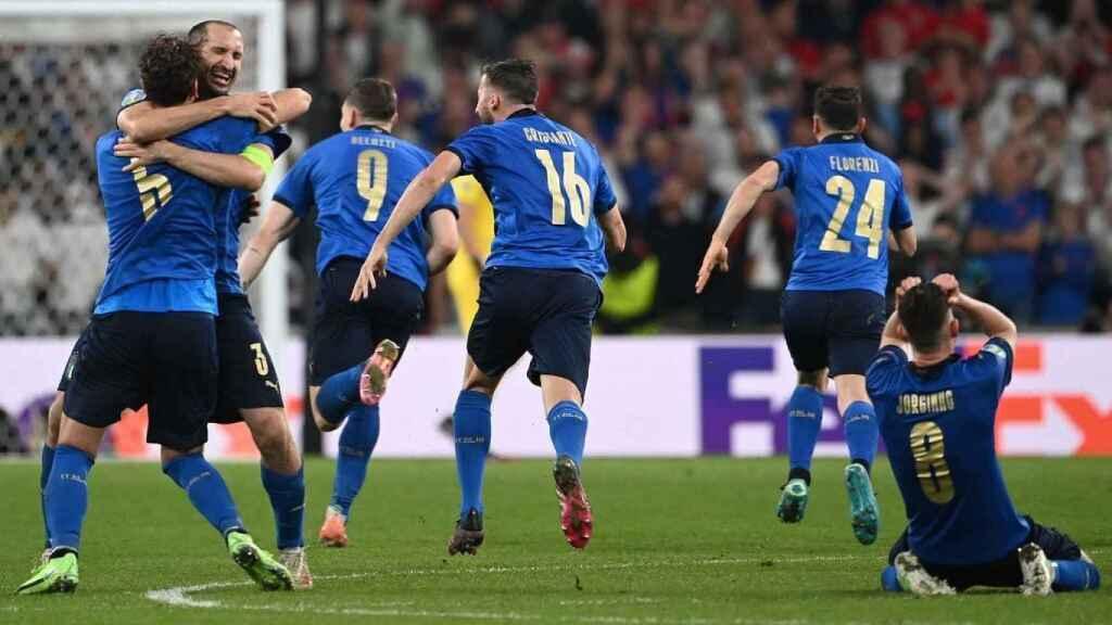 La final de la Eurocopa de Italia e Inglaterra roza los 9 millones en los penalties