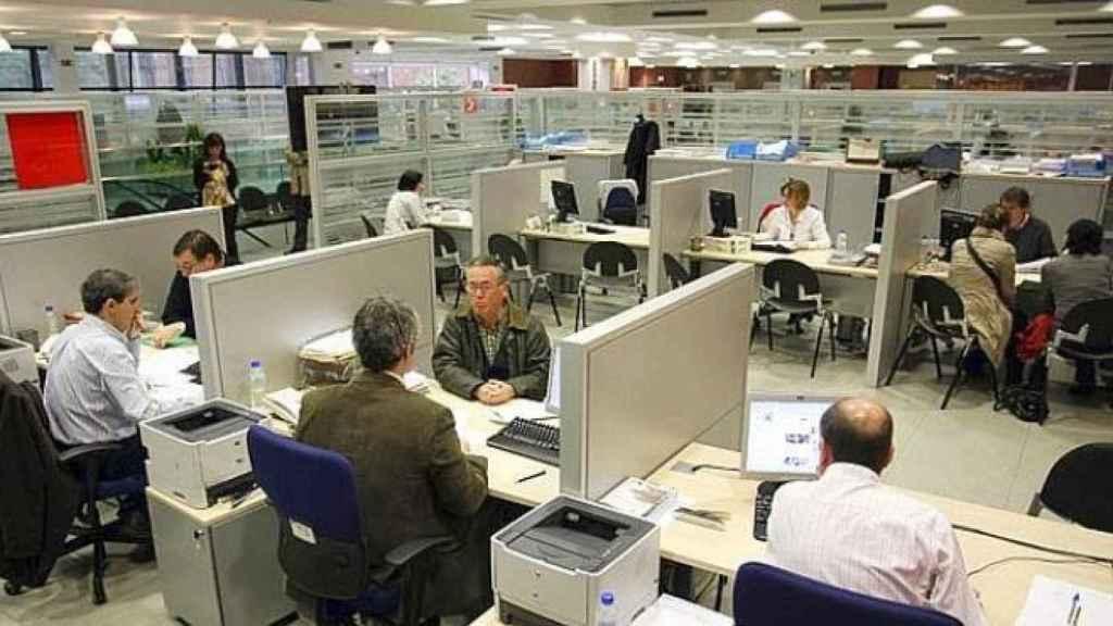 Oficina de una administración pública