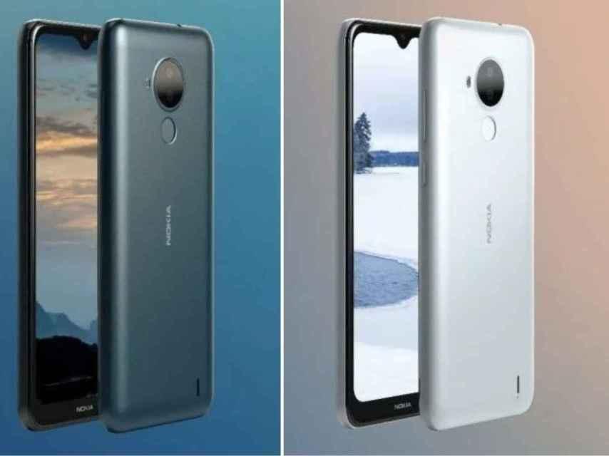 Nokia C30 renders