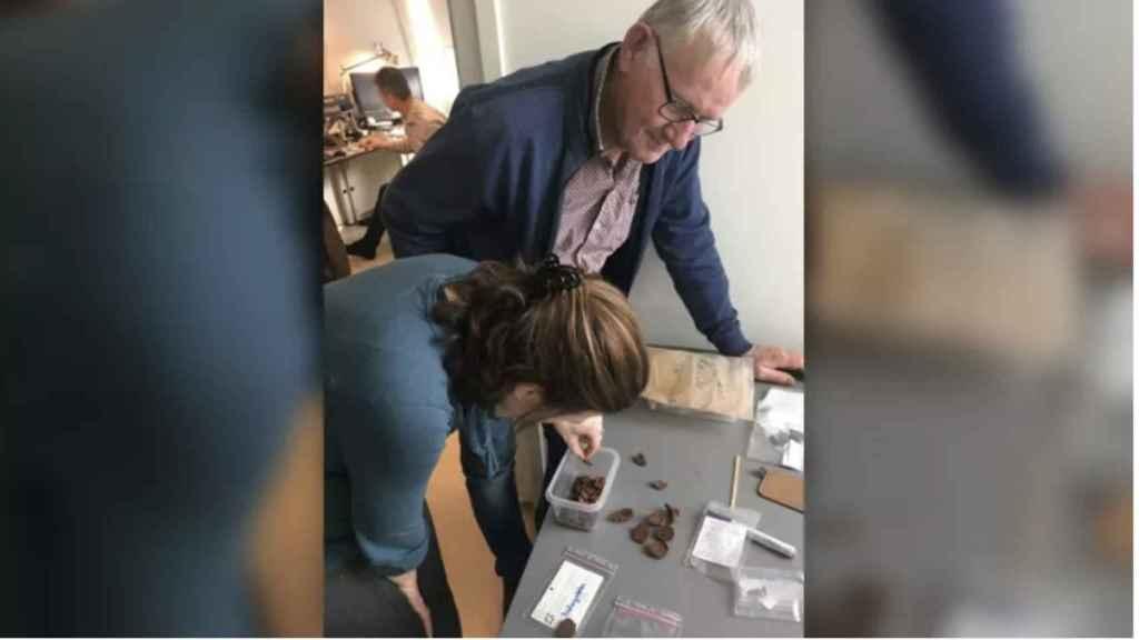 Los arqueólogos responsables de la investigación