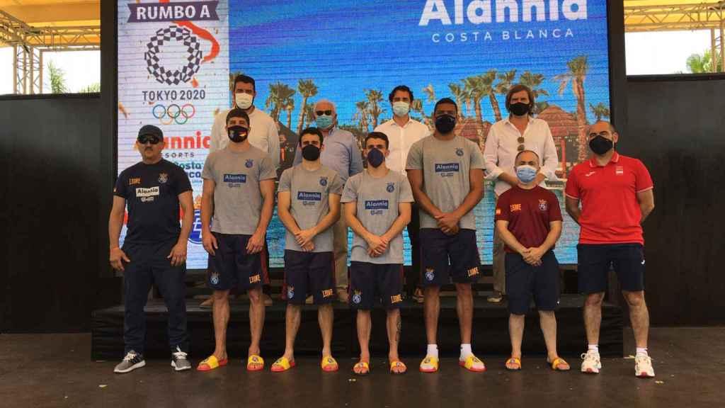 Equipo nacional de Boxeo, en Alania.