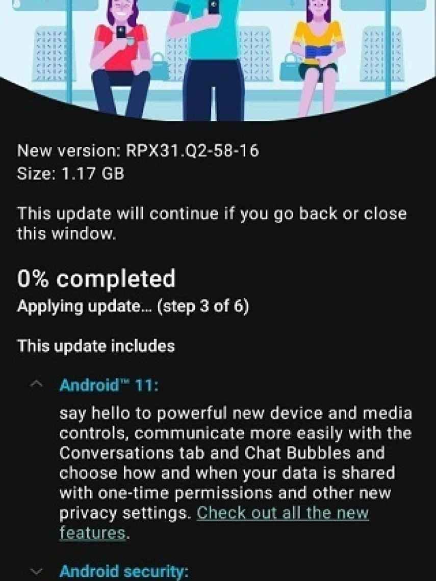 Moto G9 actualizacion Android 11
