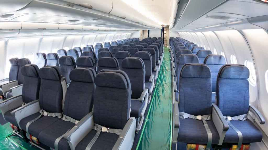 Cabina de pasajeros del A330 MRTT