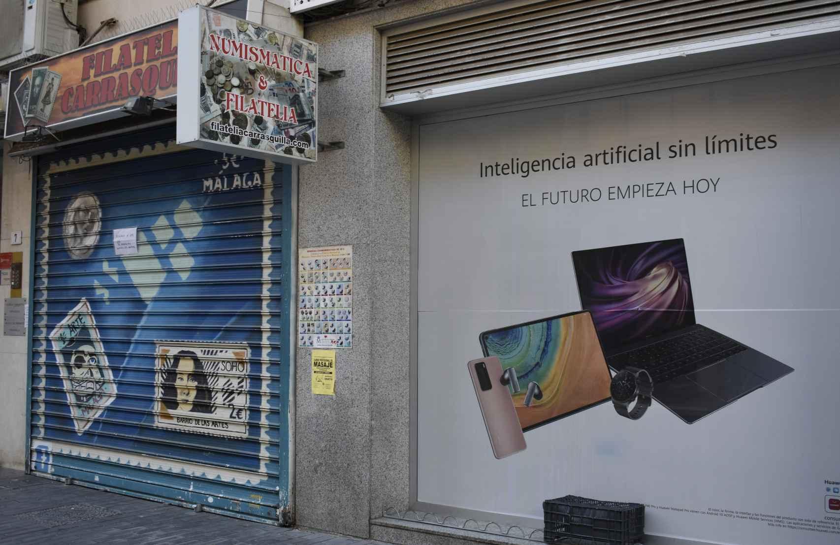 La tienda Filatelia Carrasquilla lleva abierta más de 40 años