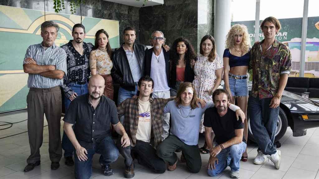 El equipo de 'El inmortal'.