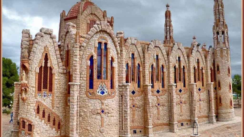 La construcción del santuario comenzó en 1918, pero la obra no se culminó hasta 1946.