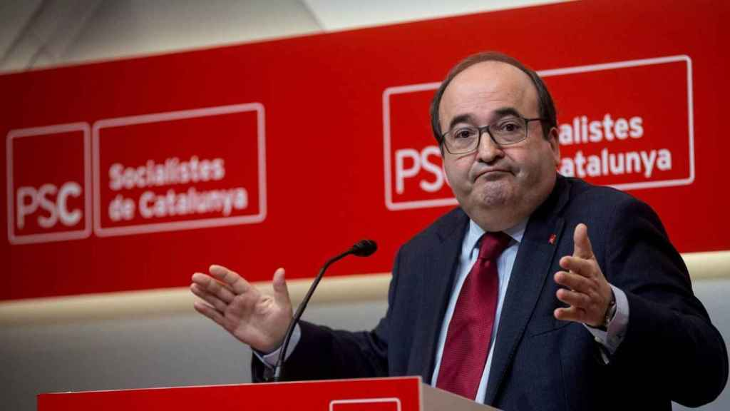 El saliente ministro de Función Pública, Miquel Iceta.