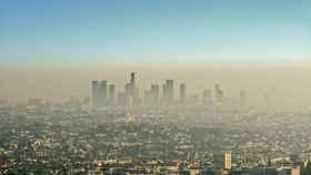 Imagen de la contaminación de la ciudad de Los Ángeles.