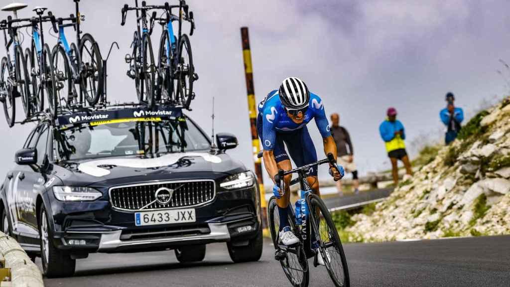 Enric Mas, en el Tour de Francia 2021
