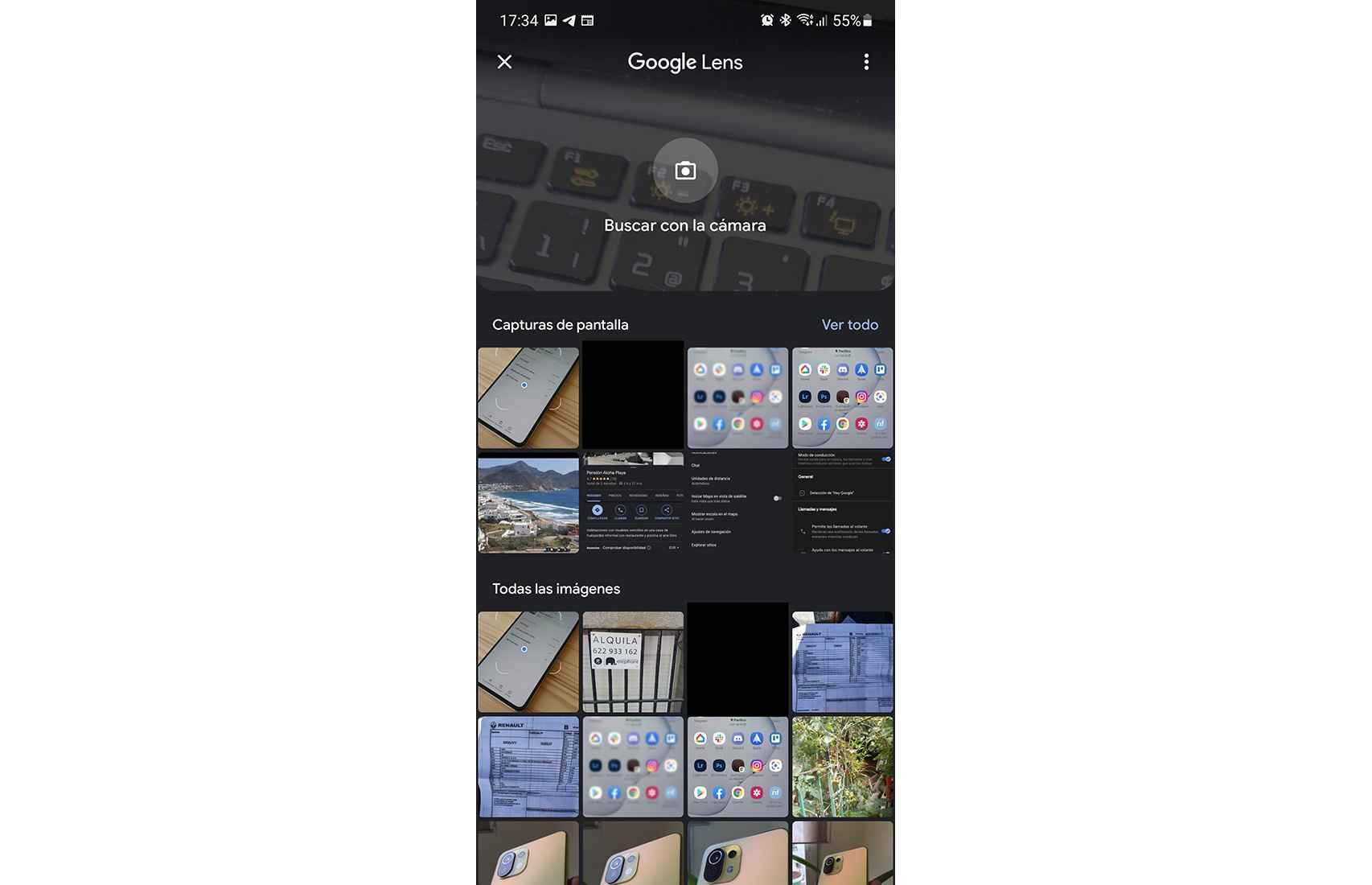 Actualización de Google Lens