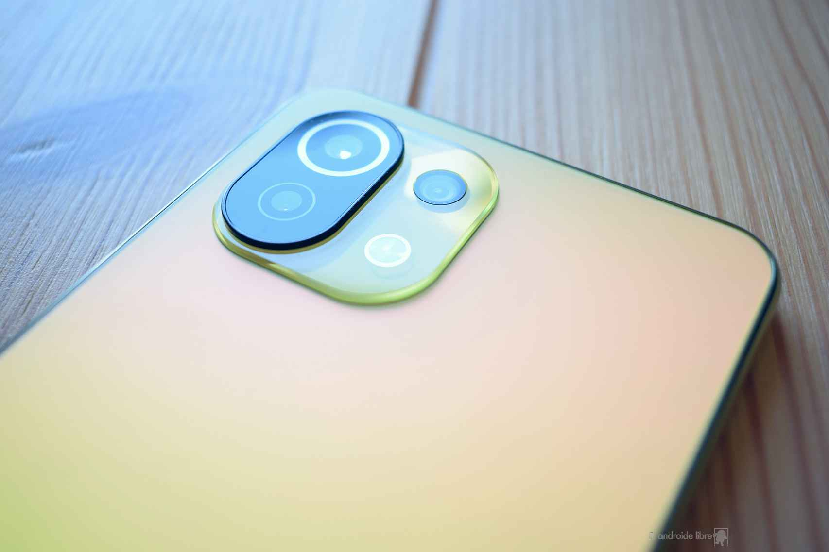 Lentes de la cámara del Xiaomi Mi 11 Lite 5G