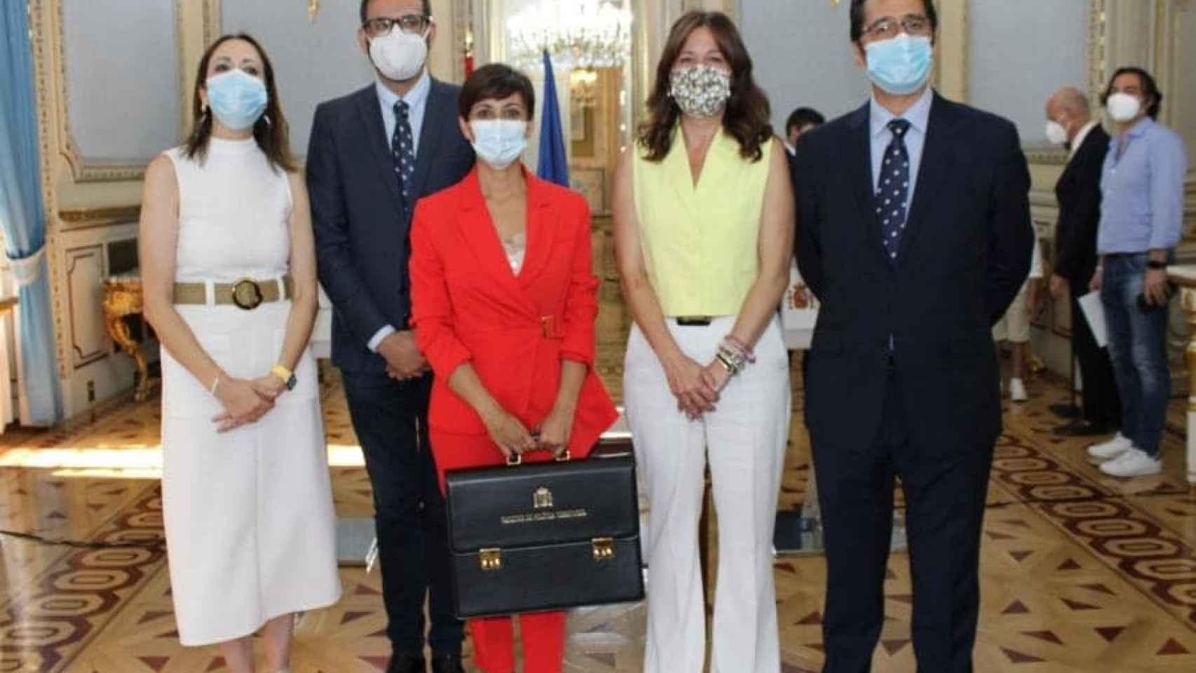 Isabel Rodríguez toma posesión como portavoz del Gobierno y ministra
