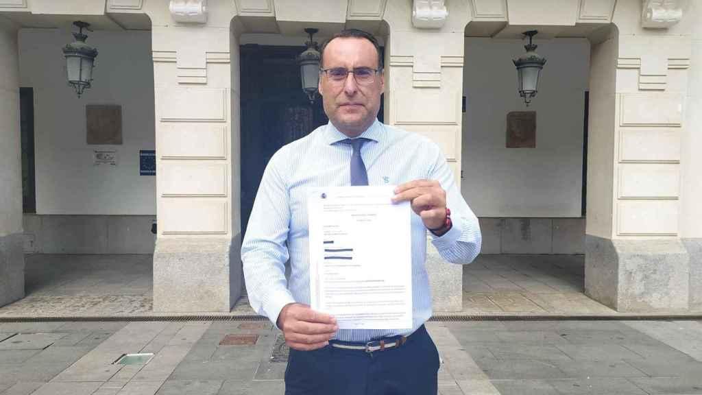 El portavoz de Vox en el Ayuntamiento de Guadalajara, Antonio de Miguel