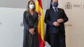 Raquel Sánchez y José Luis Ábalos. Foto: Invertia.