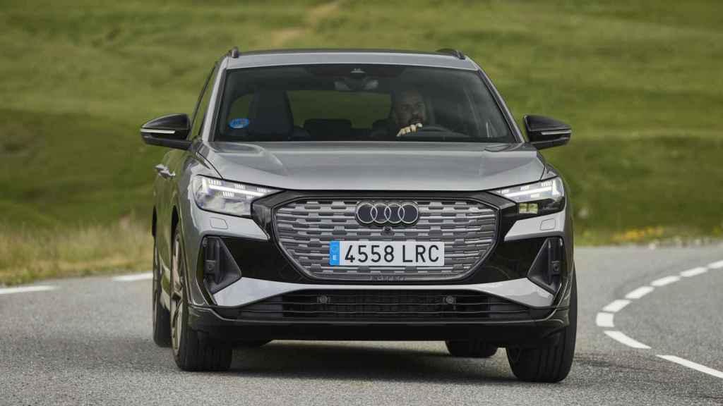 Nuevo Audi Q4 e-tron, un SUV eléctrico.