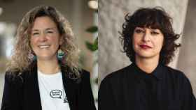 Laura González-Estéfani, CEO de TheVentureCity; y Carmen Martínez, directora de BIGBAN Inversores.