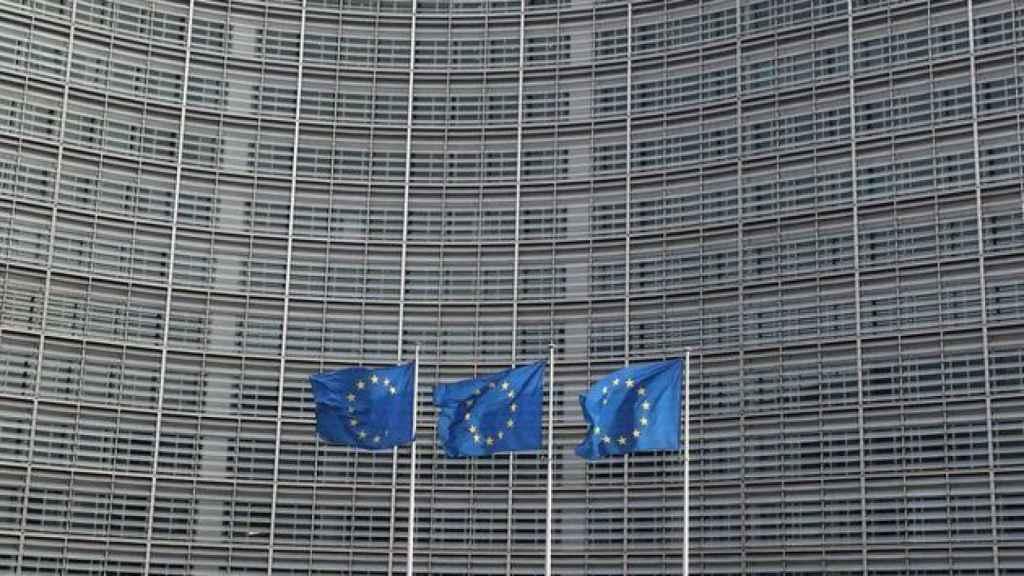 Fachada de la sede de la Comisión Europea en Bruselas.
