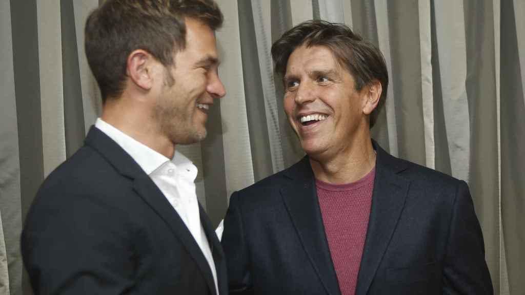 Julio Benítez y Manuel Díaz, ambos hijos de 'El Cordobés', han mostrado siempre mucha complicidad en público.