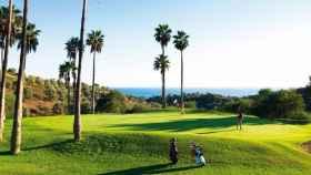 Golfistas en la Costa del Sol.