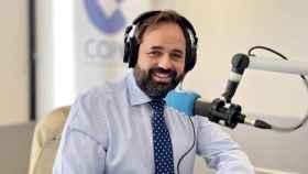 Paco Núñez en los estudios de COPE Castilla-La Mancha
