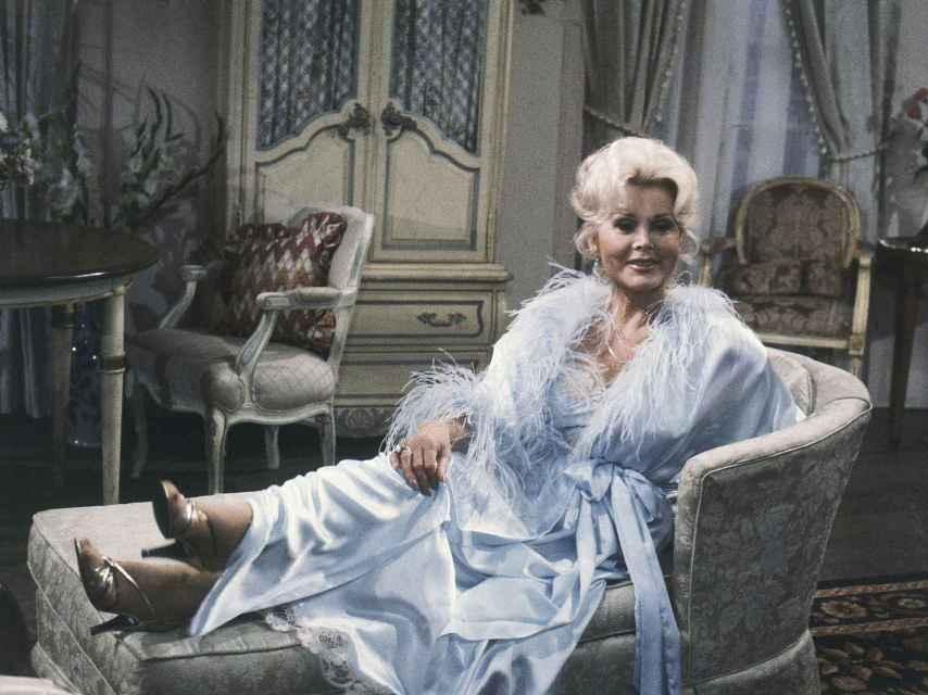La actriz en 1981 en Nueva York.