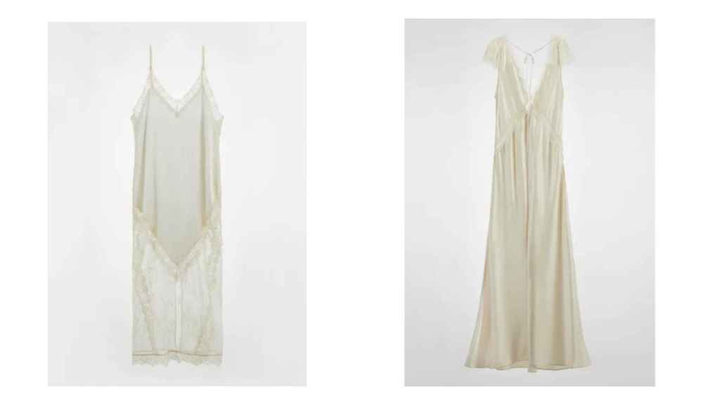 The two bridal designs of Zara.