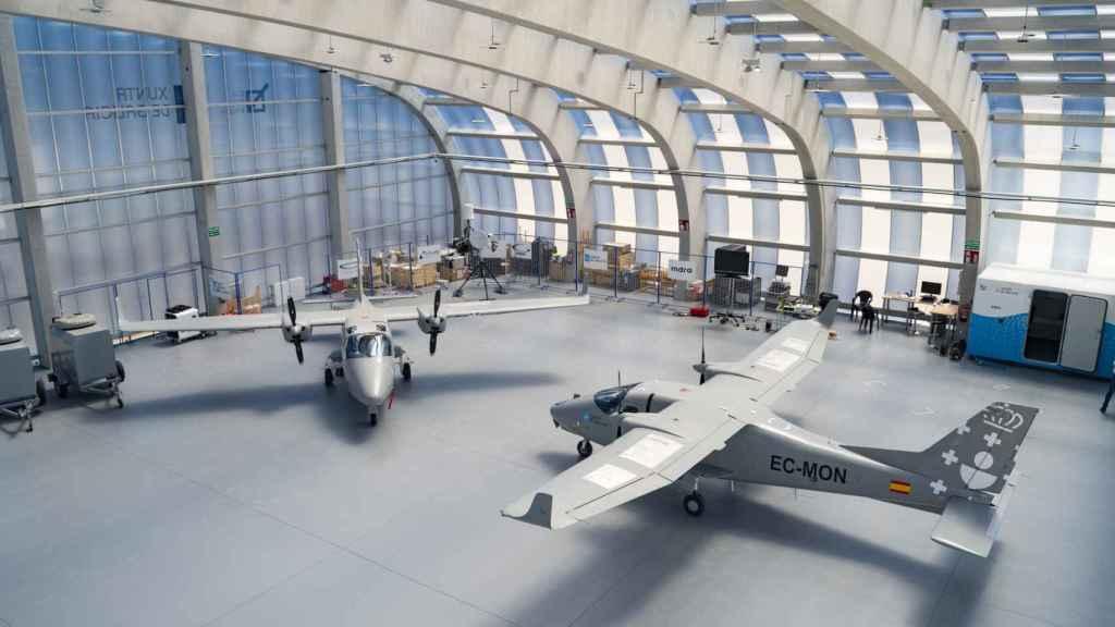 La nave Targus Hangar creada por Indra