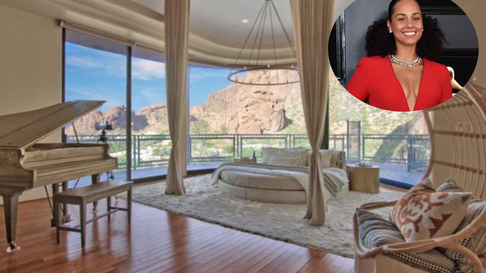 Alicia Keys se deshace por fin de su mansión en Arizona tras cinco años a la venta