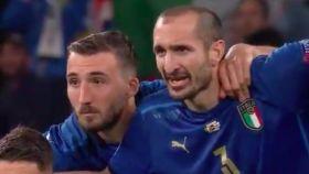 La reacción de Giorgio Chiellini