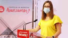 Esther Padilla, diputada nacional y vicesecretaria del PSOE de Toledo