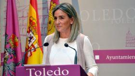 Milagros Tolón, alcaldesa de Toledo. Foto: Ayuntamiento de Toledo.