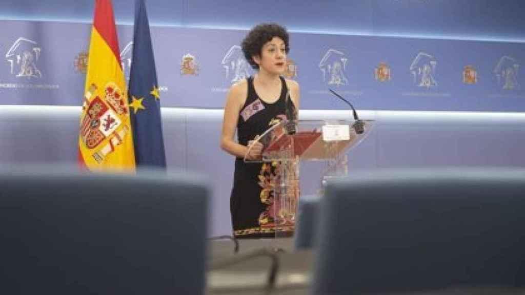 La diputada de Unidas Podemos y portavoz de En Comú Podem en el Congreso, Aina Vidal. EP