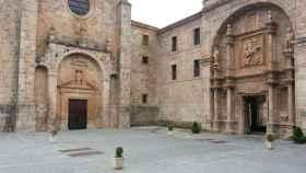 San Millán de la Cogolla (La Rioja), lugar al que se atribuye la 'aparición' del idioma español. FOTO: Pixabay.