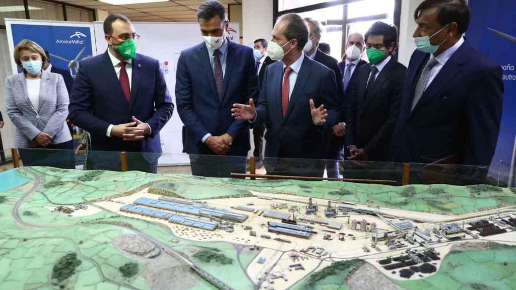 Pedro Sánchez: España será un referente mundial en la descarbonización del acero