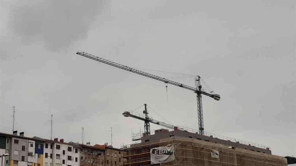 Imagen de una promoción de viviendas en Málaga.
