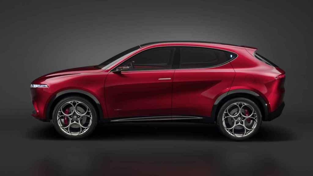 El Alfa Romeo Tonale llegará a mediados de 2022.