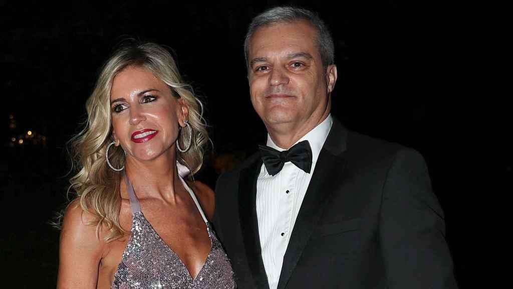 Ramón García y Patricia Cerezo, en una imagen de 2019.