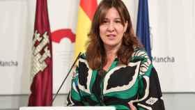 Blanca Fernández, consejera portavoz del Gobierno de Castilla-La Mancha. Foto: Óscar Huertas