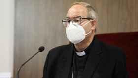 Francisco Cerro Chaves, arzobispo de Toledo, en una imagen de este miércoles. Foto: Óscar Huertas