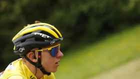Tadej Pogacar, en la etapa 17 del Tour de Francia 2021