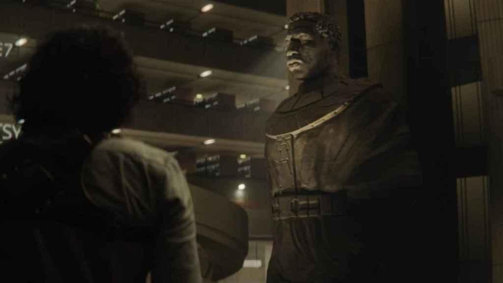 La AVT al final de la primera temporada de 'Loki'.