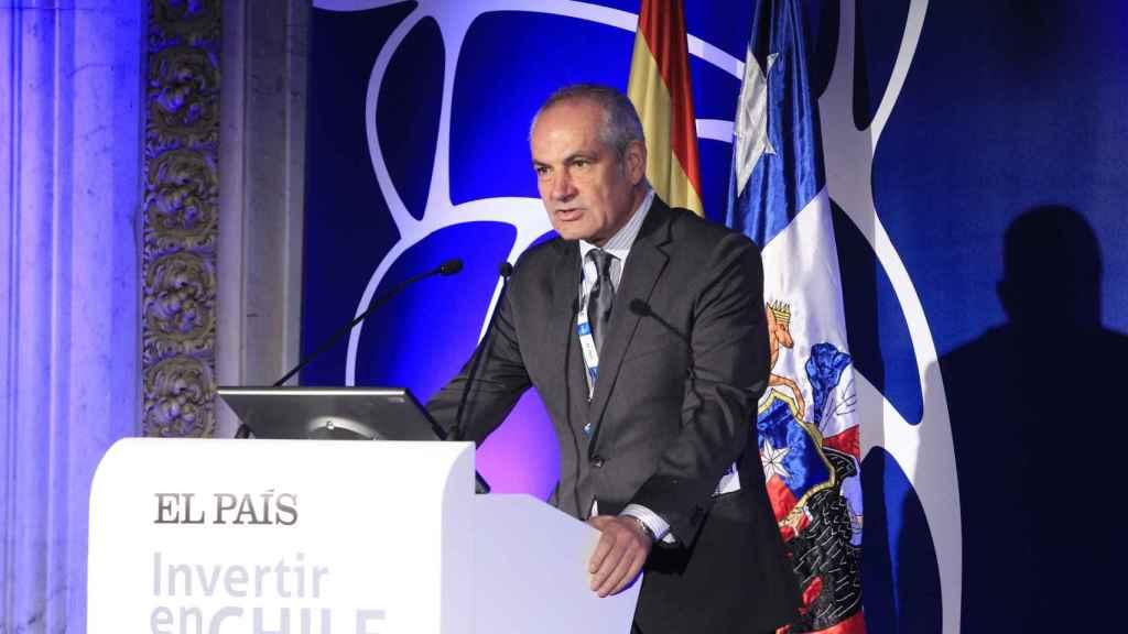 Antonio Caño, durante una conferencia.