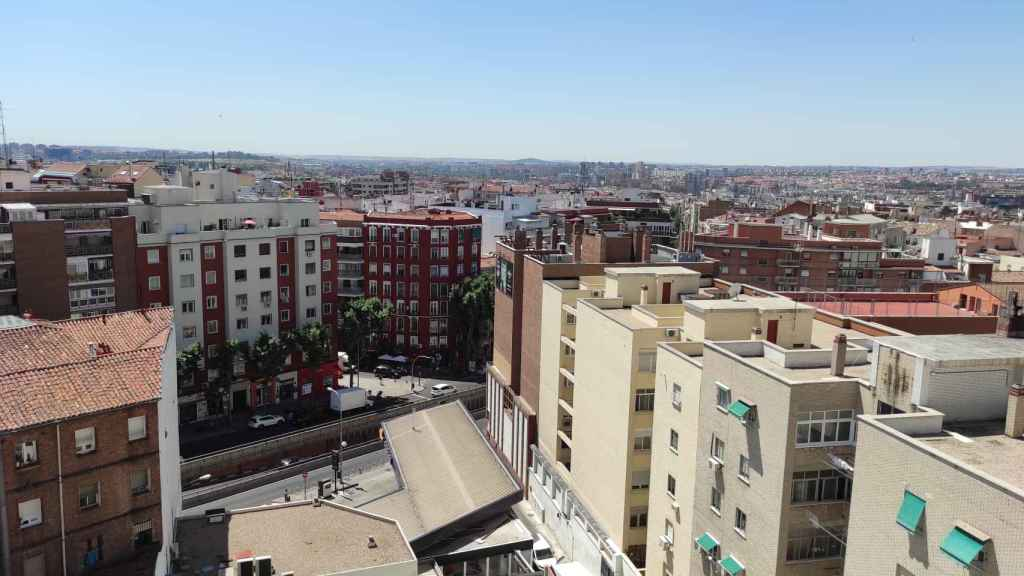 Vista aérea de Madrid. Foto: Invertia.