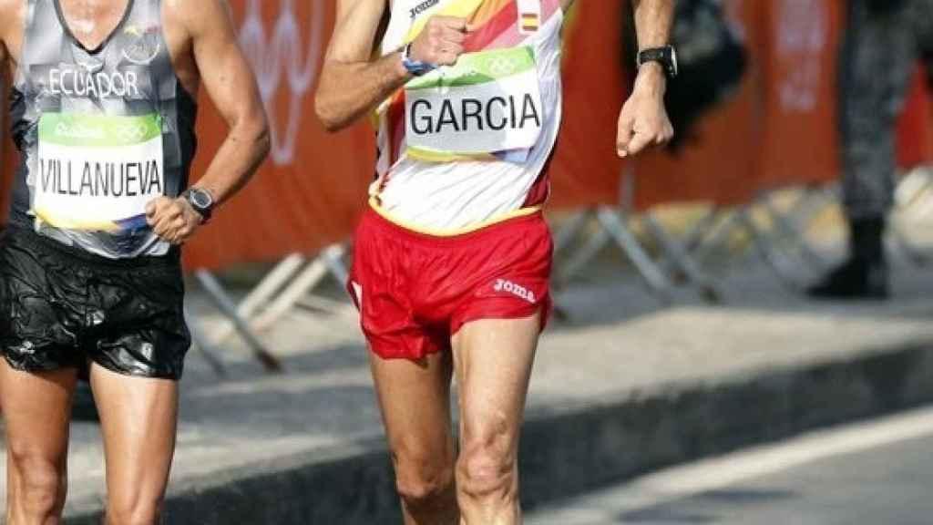 Jesús Ángel García Bragado, en los Juegos Olímpicos de Río de Janeiro